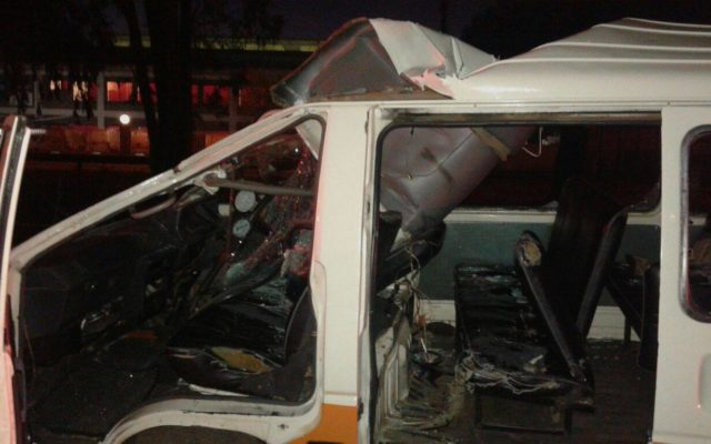 13 Injured when loose truck tyre comes off and collides with minibus taxi, Centurion