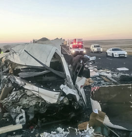 Warden N3 crash leaves two dead one injured