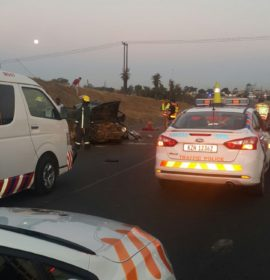 One killed as truck and motor vehicle collide on the N3 in Durban