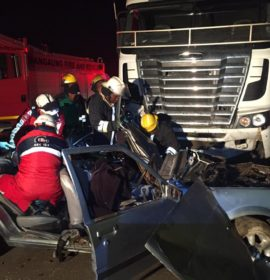 Fatal truck collision in Meadows, Bloemfontein
