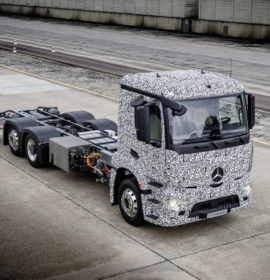 Mercedes-Benz Trucks; Urban eTruck  /Images via Techcrunch