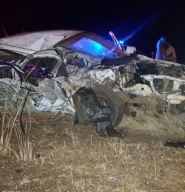 Motorist killed in collision with truck 3km outside of Carletonville