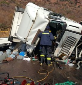 Man killed, another injured in truck collision, Kranspoort.