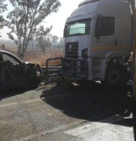 Multiple vehicle collision causes closure of N14
