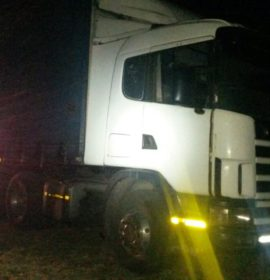 Stolen truck recovered near a graveyard in Mothutlung, North West