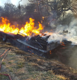 Child dies as truck and tractor collides near Letsitele