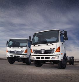 Revisions made to Hino 500-Series range