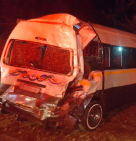 Seven injured as truck and taxi collide in Carletonville