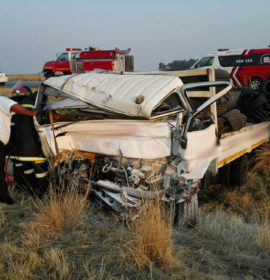 Man critically injured in collision involving two trucks on the R59, Sasolburg