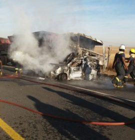 Two killed in collision with coal truck, Mpumalanga