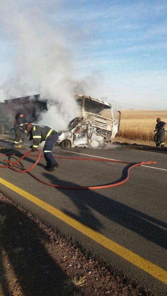 Two killed in collision, Mpumalanga.