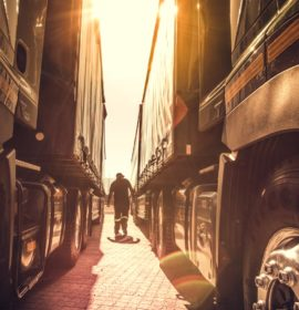 Truck driver wellness benefits from partnerships
