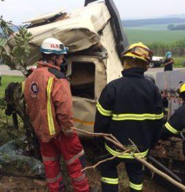 Truck rolls killing man, New Hanover