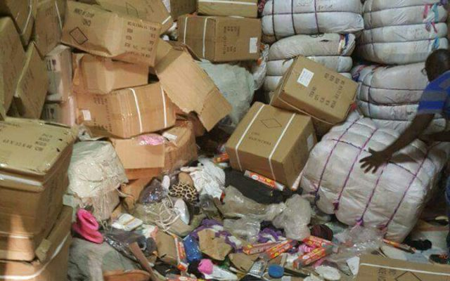 Goods recovered in Musina reportedly stolen from hijacked trucks