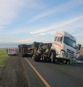 Collision on the N3 about 20 km from Warden direction Villiers