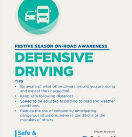 Barloworld Transport shares important Road Safety Messages