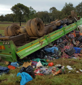 Three killed, nine injured in truck collision 20km outside Potchefstroom
