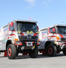 Hino aims to continue reliability record in its 26th Dakar Rally