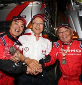 Hino notches up 26th consecutive finish in Dakar rally