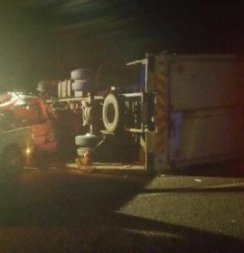 Truck collision south of NylPlaza, Limpopo