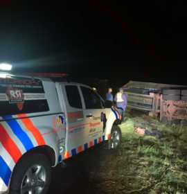 Five injured in truck rollover between Bloemfontein and Petrusburg