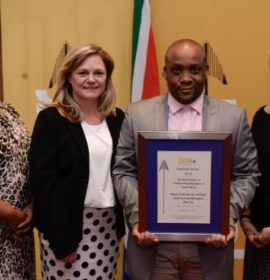 HCV Wins Diamond PMR.africa Award For Excellence
