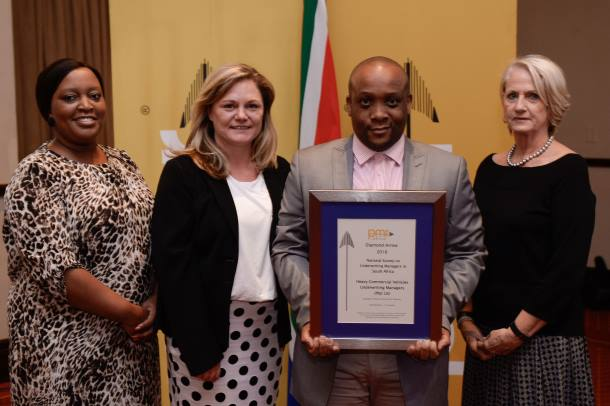 HCV Wins Diamond PMR.africa Award For Excellence