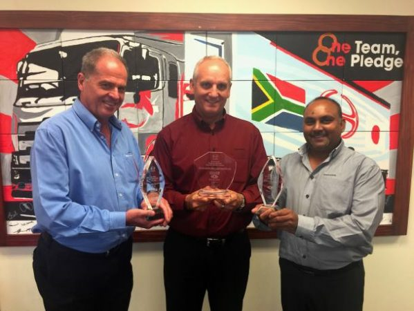 Hino SA comes out top in both parts and service categories in International contest
