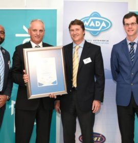 Hino SA makes history with Platinum Award in dealer survey