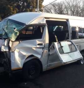At least 15 injured after truck and taxi collide, Pretoria