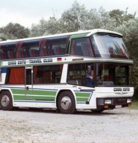 50 Years of NEOPLAN Skyliner: Small Coaches, Big in Japan