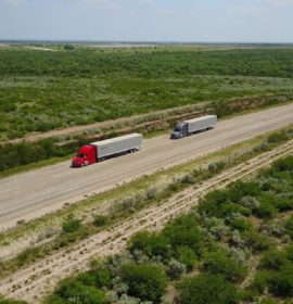Daimler Trucks tests truck platooning on public highways in the US