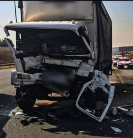 2 Entrapped after truck collision on the R21.
