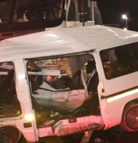 Ntuzuma Taxi and truck collide leaving five injured