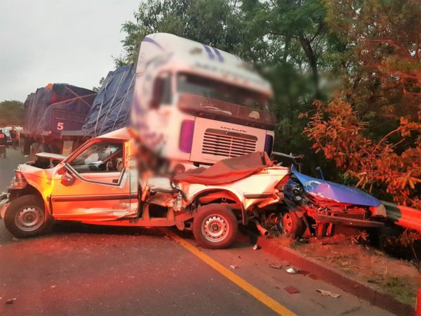 8 Injured in Pile-up on the M7 Durban Bound