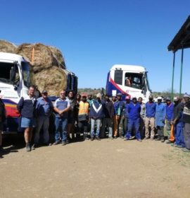 Grindrod Integrated Logistics joins farmers in KZN to bring relief to drought-stricken Eastern Cape