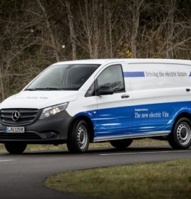 Electric vans from Mercedes-Benz Vans