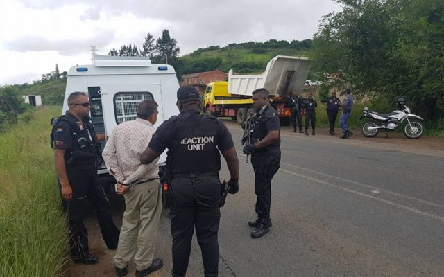 Millionaire Businessman found in possession of reportedly stolen truck