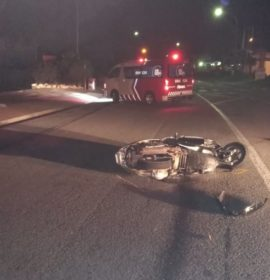Truck and scooter collide killing a man in Knysna