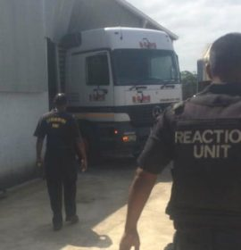 Three Crushed By Industrial Printing Machine they were offloading from truck in Tongaat