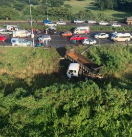 Truck Driver Flees an Accident Scene in Phoenix, KZN