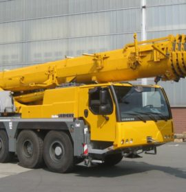 Getting to know the different types of mobile construction cranes
