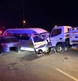 13 Injured in collision at intersection in Bloemfontein