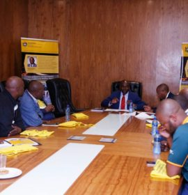 KZN MEC Kaunda hosts meeting with truck drivers