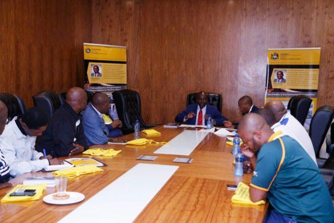 KZN MEC Kaunda hosts meeting with truck drivers