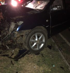 Two injured in collision with truck in Vereeniging