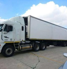 Tip-off leads to arrest of truck driver and confiscation of counterfeit goods