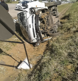 Driver of light delivery vehicle injured in crash on N2 North Ballito crash