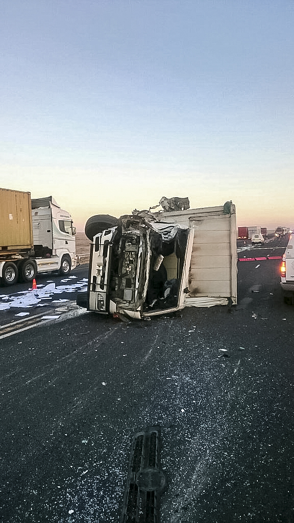 Warden N3 crash leaves two dead one injured - Truck and Freight