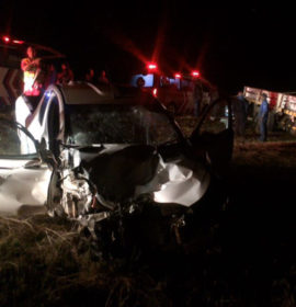 Bakkie hits cow, collides with truck – Man in serious condition in Krugersdorp
